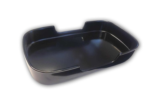 Food Container Black 9,5´´
