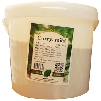 Curry Mild 4kg GB