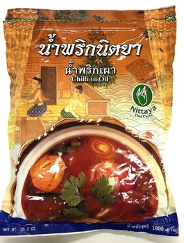 Nittaya chili in oil 10*1kg