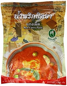 Nittaya Red Curry 10*1kg